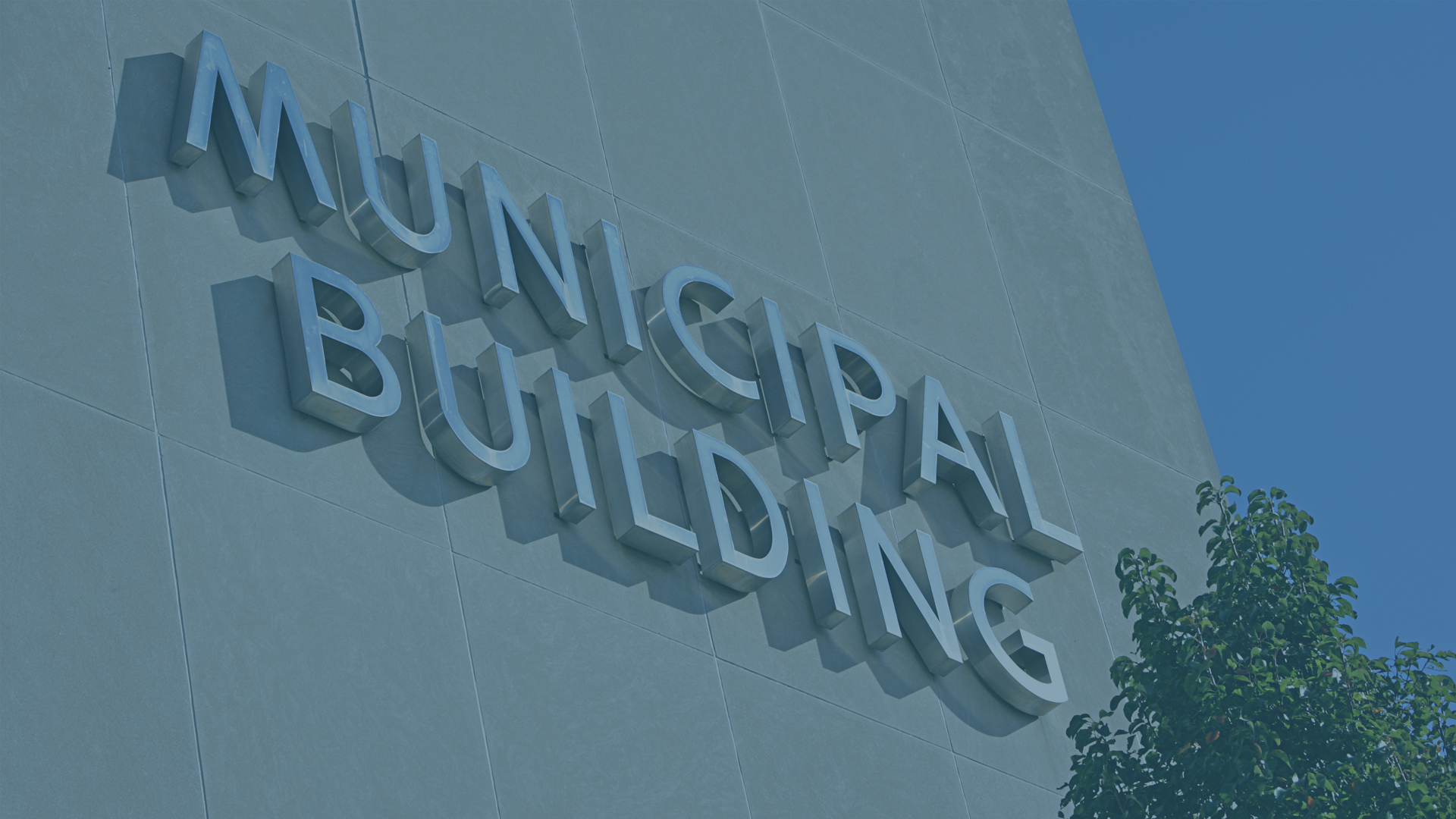 Municipal Building - Municipal Government Wayfinders