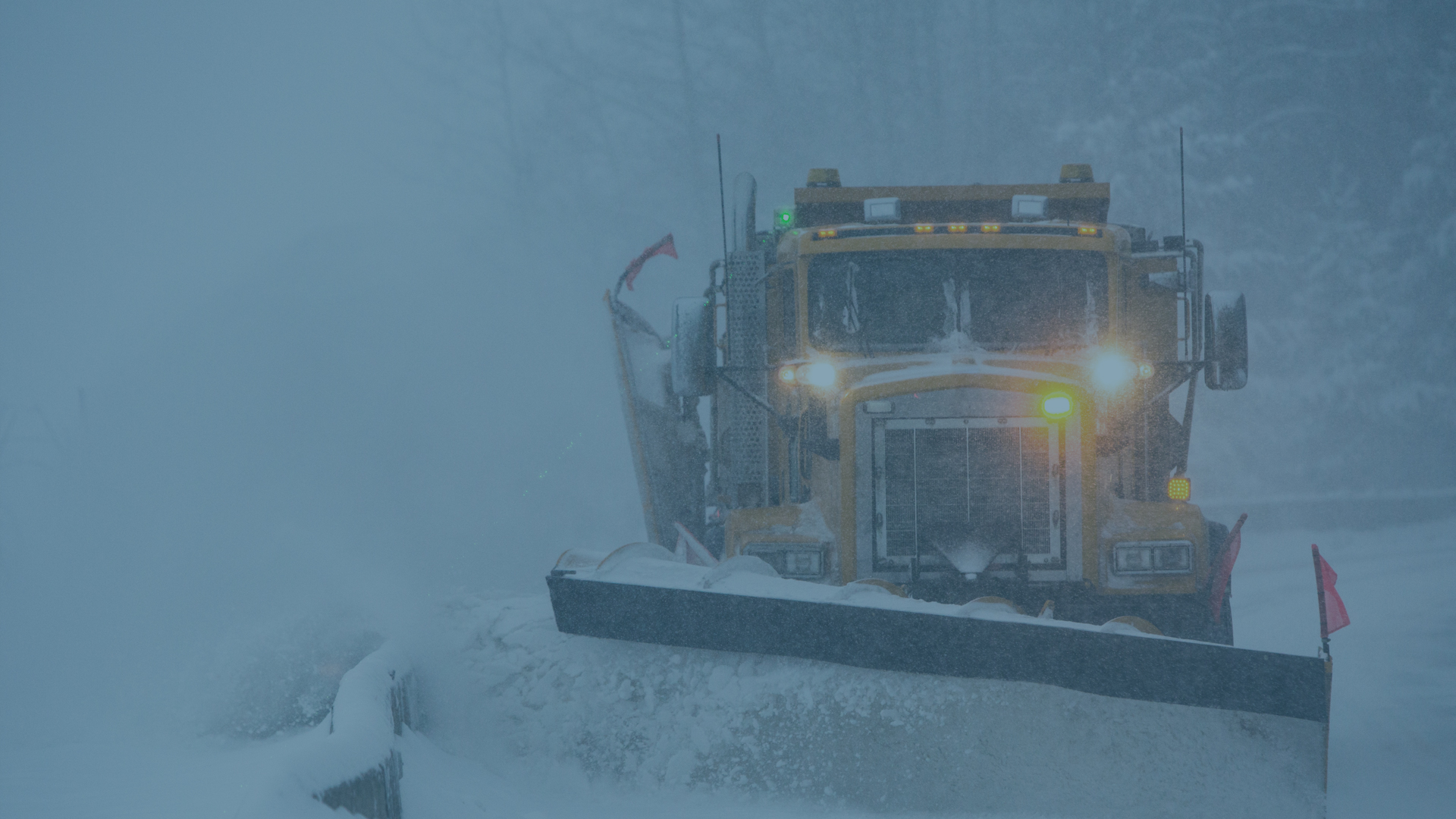 Snow plow - Municipal Government Wayfinders