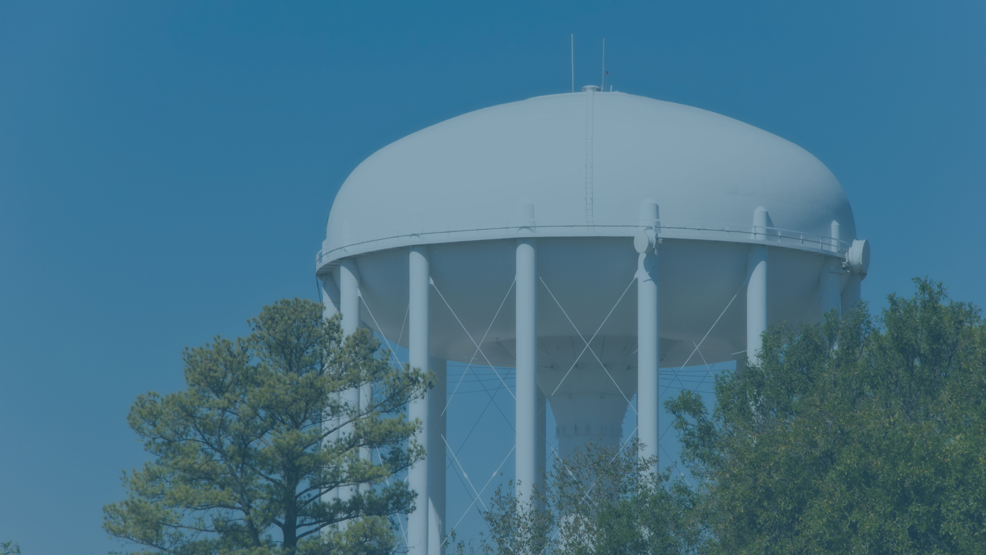Water tower - Municipal Government Wayfinders