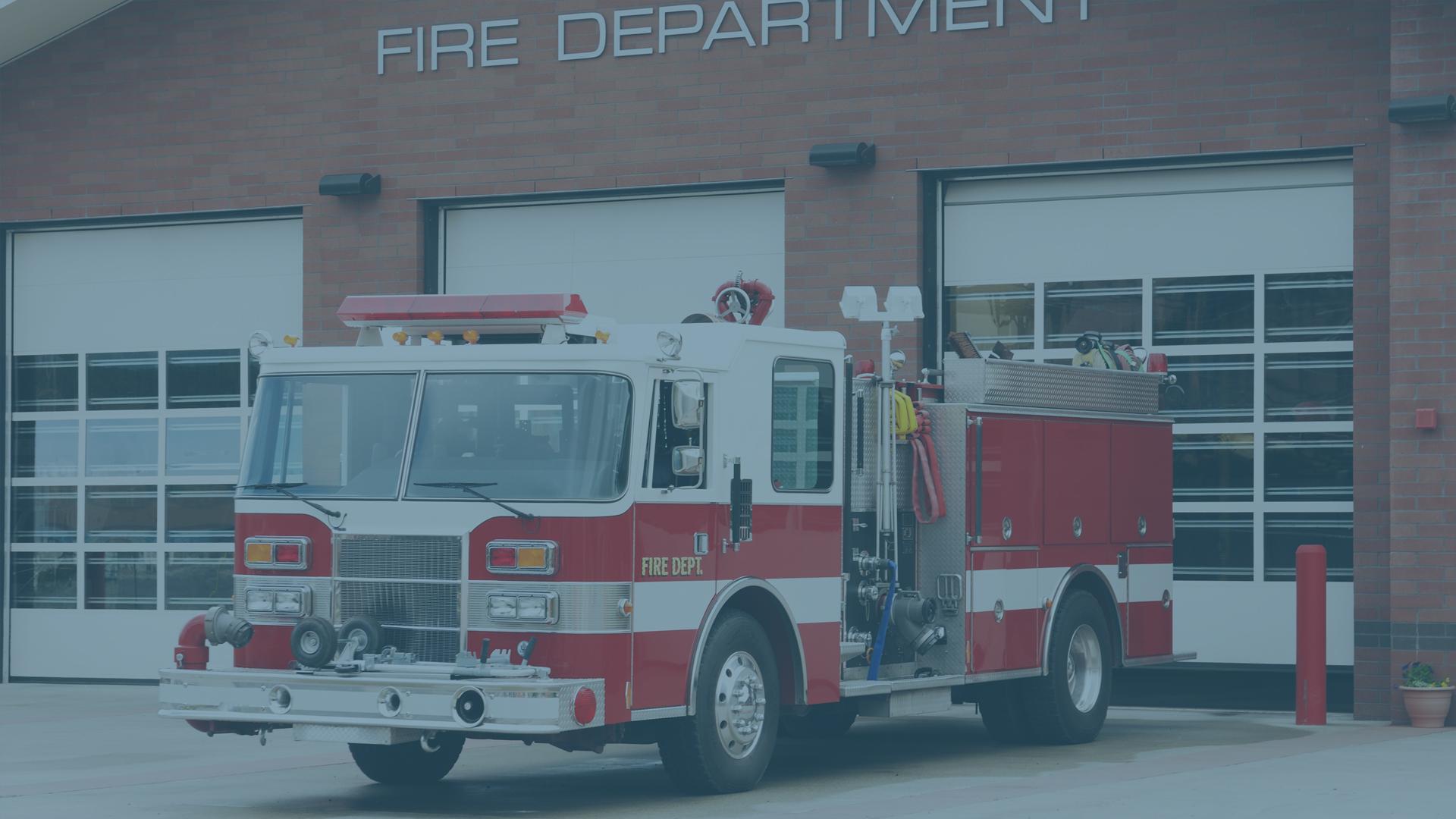 Firetruck - Municipal Government Wayfinders